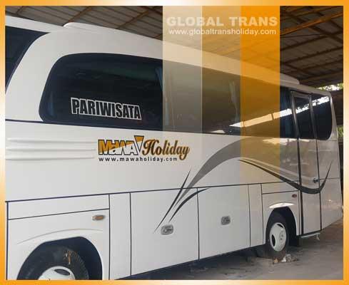 Sewa Bus Pariwisata Bandung Murah Unit Terbaru