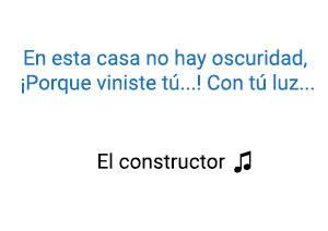 Laura Guevara El Constructor significado de la canción.