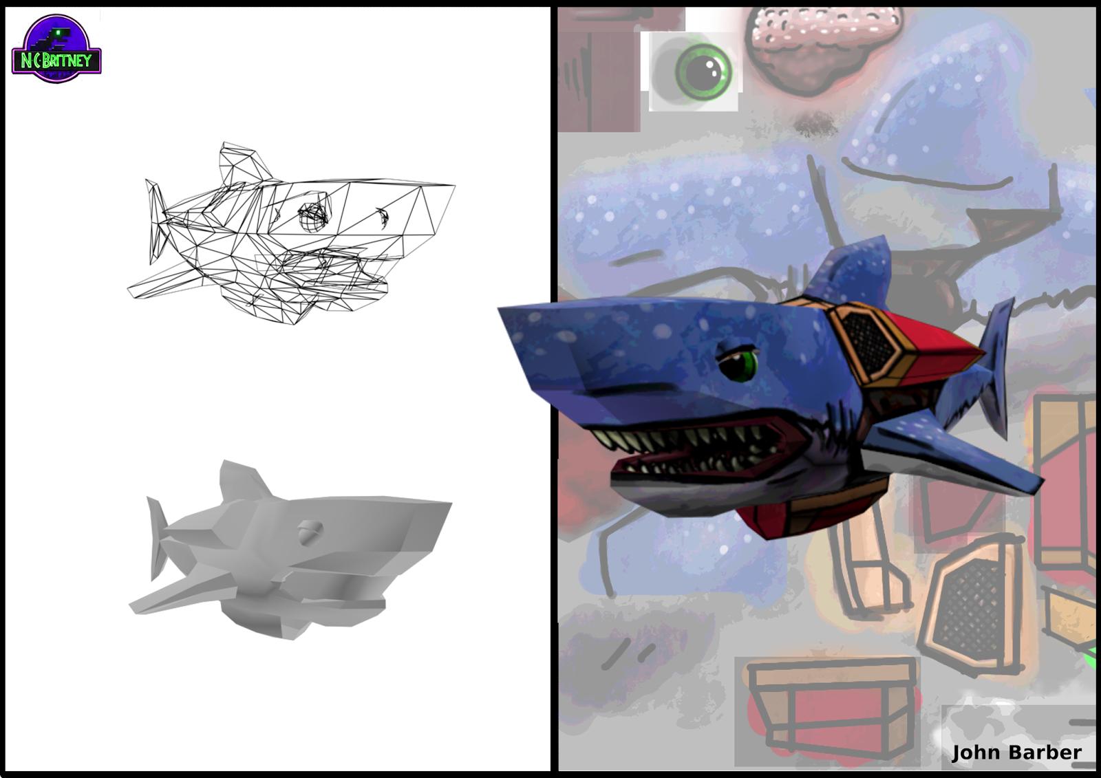 Jet-Pack Shark