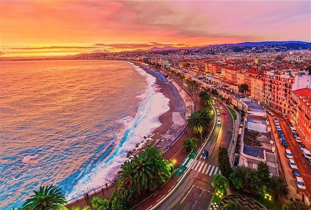 Vista da cidade de Nice