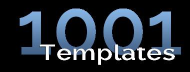 1001 Templates