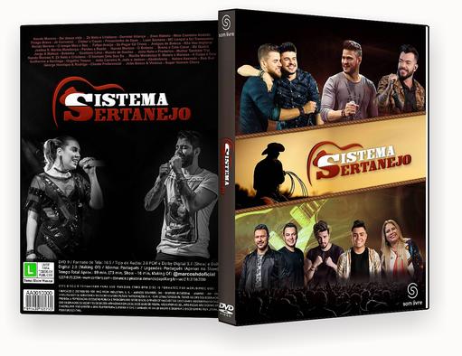 Sistema Sertanejo 2018 DVD-R – CAPA DVD