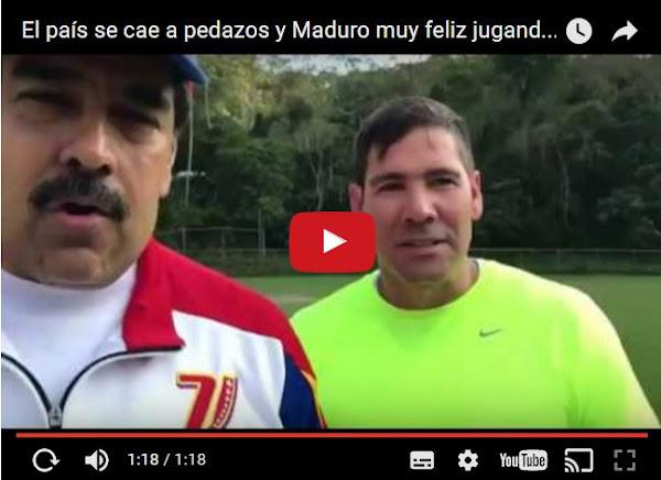 Maduro confirma que le gusta jugar con las bolas de Winston