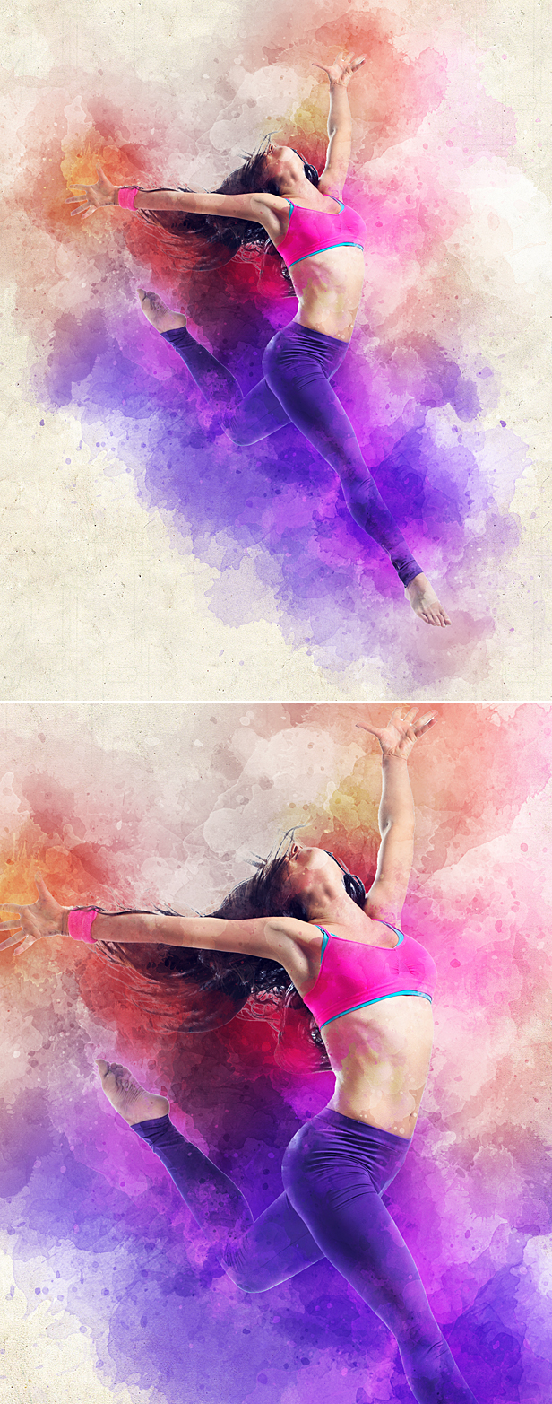 Watercolor Animation Photoshop Action - 8