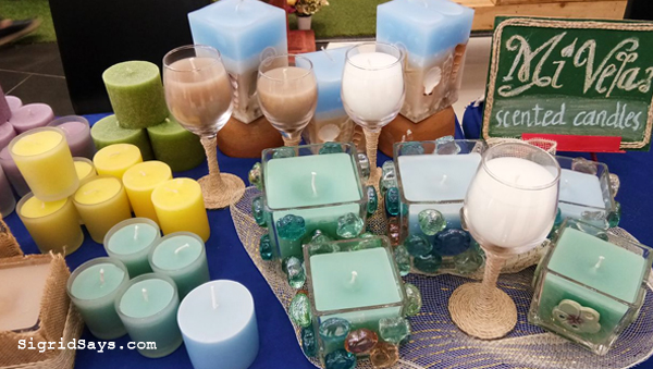 Bacolod artists - Art Sale - SM City Bacolod - scented candles