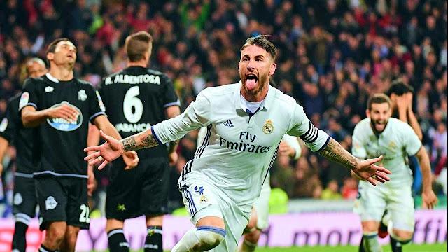 نتيجة مباراة ريال مدريد وديبورتيفو لاكورونا اليوم 21-1-2018 الدوري الإسباني