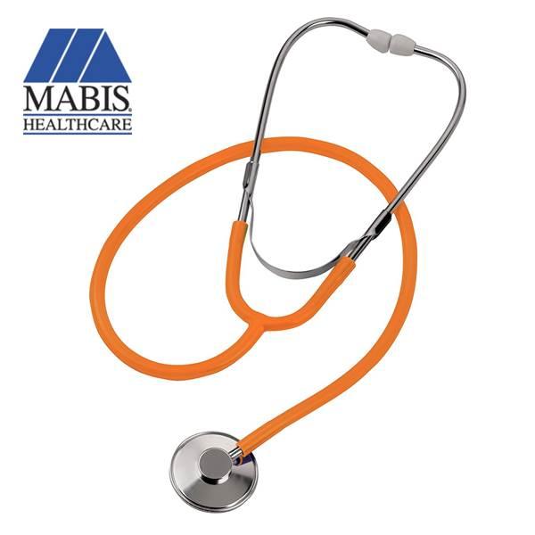 Mabis Spectrum Lightweight Nurse Stethoscope (Orange)