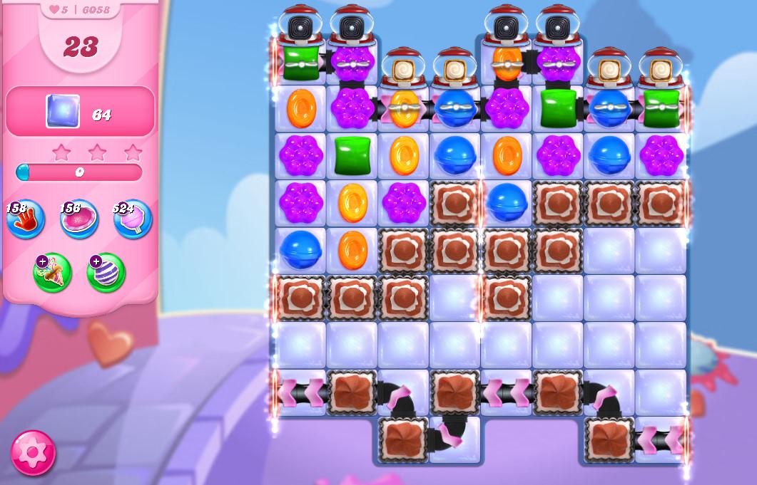 Candy Crush Saga level 6058