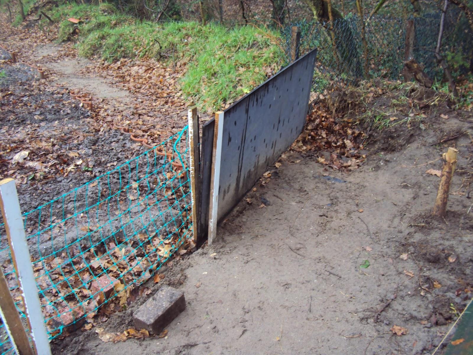 Hekjes Voor Tuin : Moesker s moestuin een simpel hekje