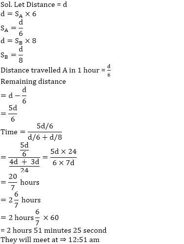 समय, गति और दूरी का नोट्स : यहाँ देखें समय, गति और दूरी (Time, Speed and Distance) के नोट्स और इसपर आधारित प्रश्न_130.1
