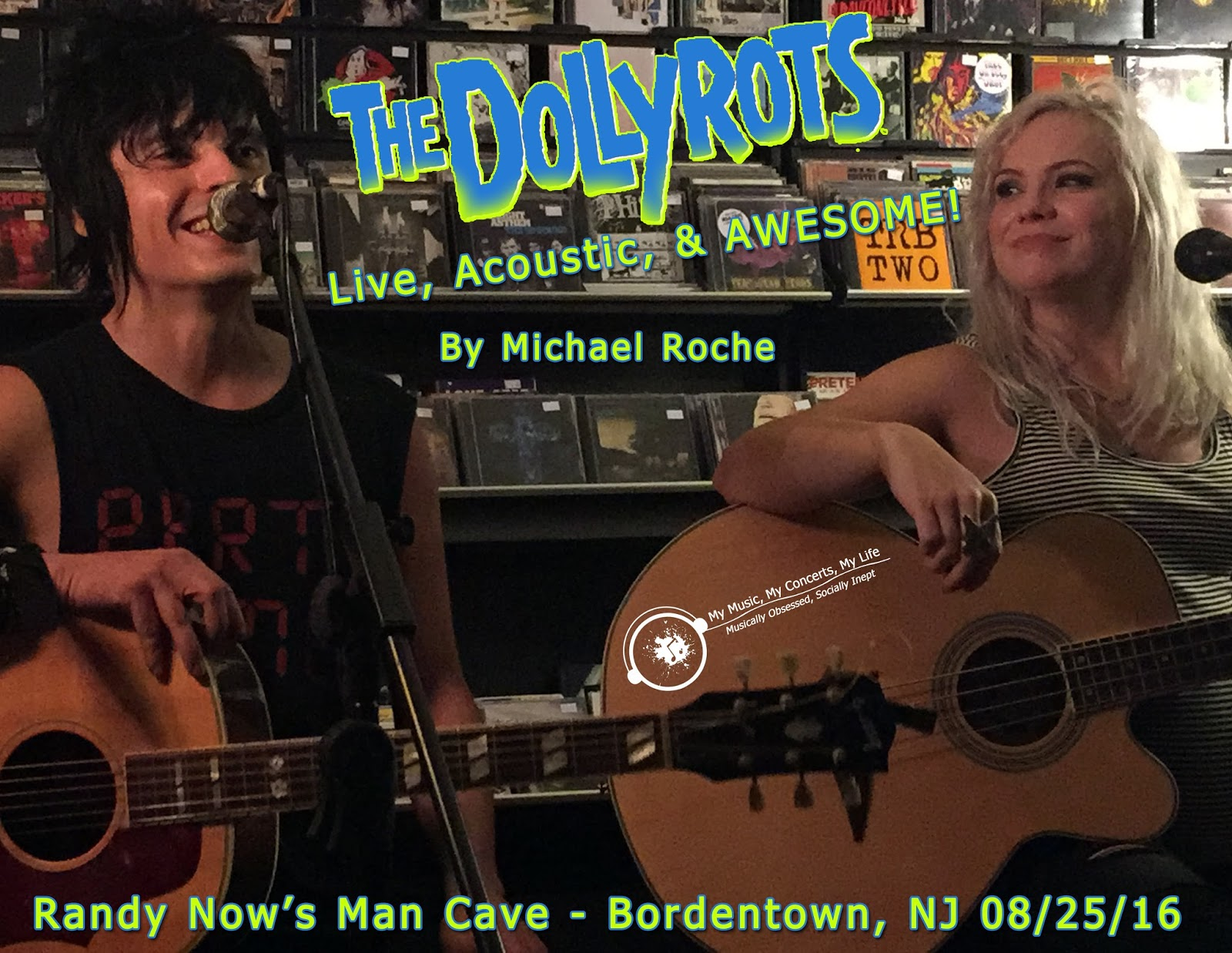 Man Cave Review : My music concerts life: concert review: the dollyrots live