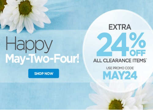 The Shopping Chanel May-Two-Four 24% off Clearance items Promo Code