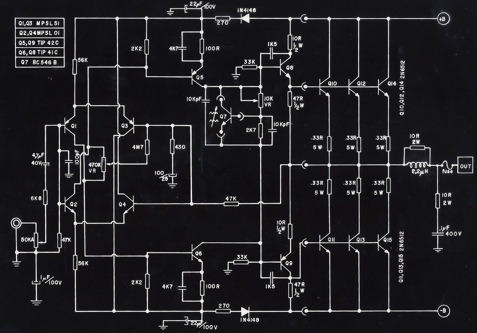 Way Crossover Schematic on