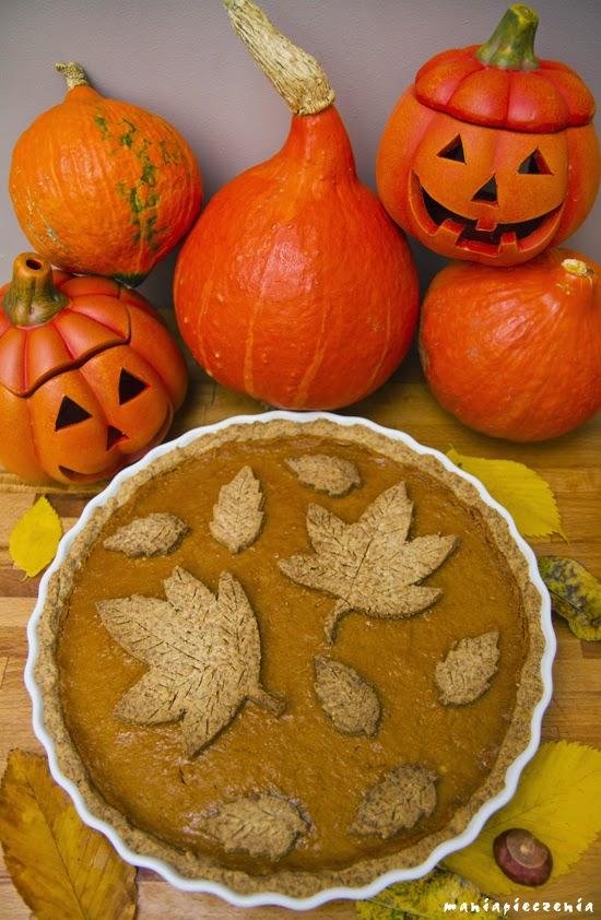 Pumpkin Pie czyli amerykański placek dyniowy