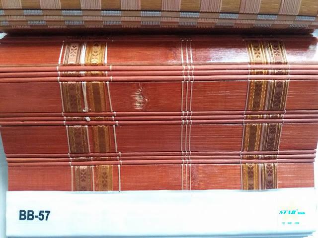 Rèm tre trúc nội thất