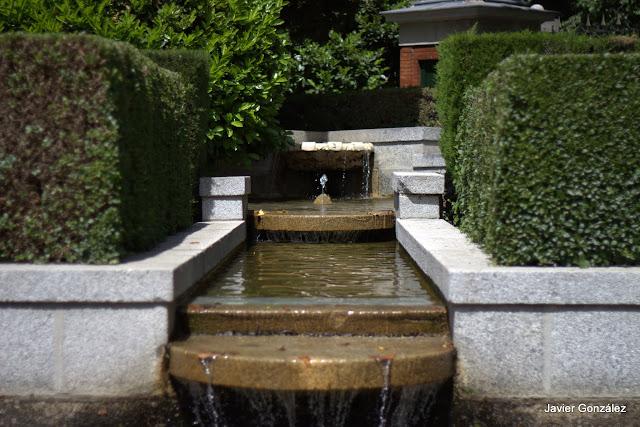 Parque del Retiro de Madrid. Itinerario 5.Jardines de Cecilio Rodríguez y Herrero Palacio