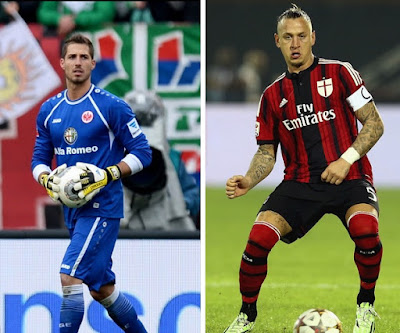 PSG seal Kevin Trapp deal and AC Milan Philippe Mexes seal a year deal