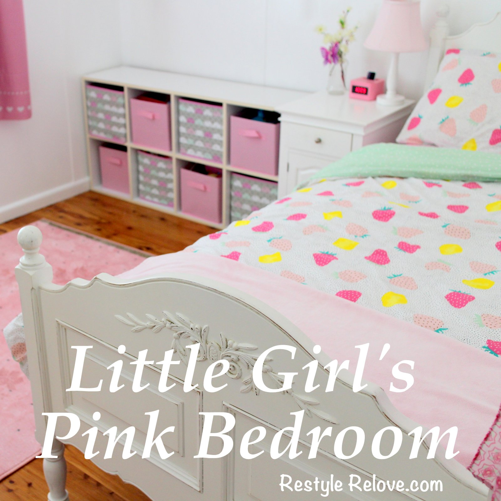 Pink bedrooms for little girls - Little Girl S Pink Bedroom