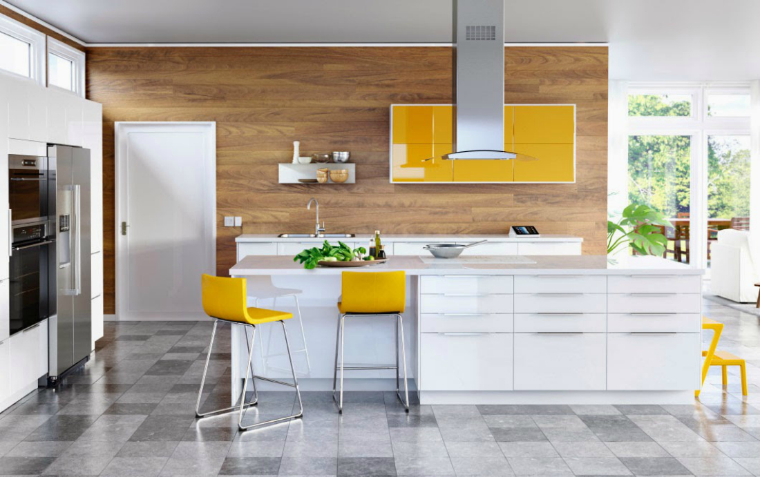 When Ikea Launched The New Sektion Kitchen Line I Was Struck By The Look Of  The New Colorful Glossy Door Fronts Iu0027m Not Sure Iu0027d Brave A Yellow  This