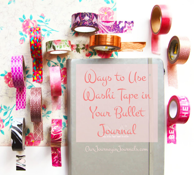 Ways to Use Washi Tape in Your Bullet Journal