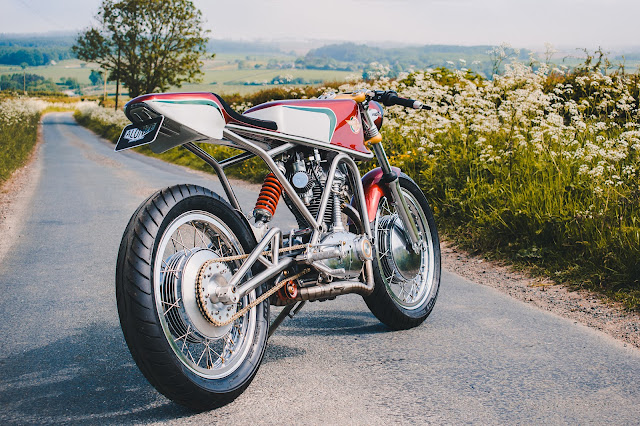 Ducati 350 Special 1967 By Alonze Custom Hell Kustom