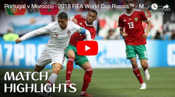 Cristiano Ronaldo acabó con las ilusiones de Marruecos