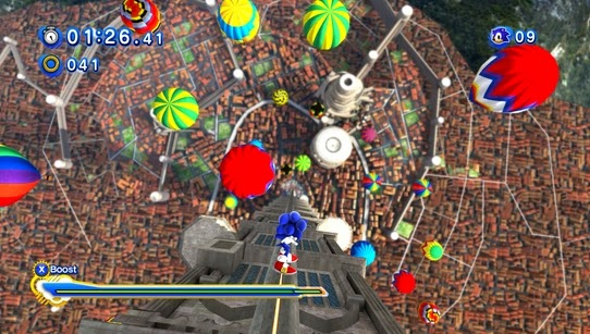 Gameplay Sonic Generations