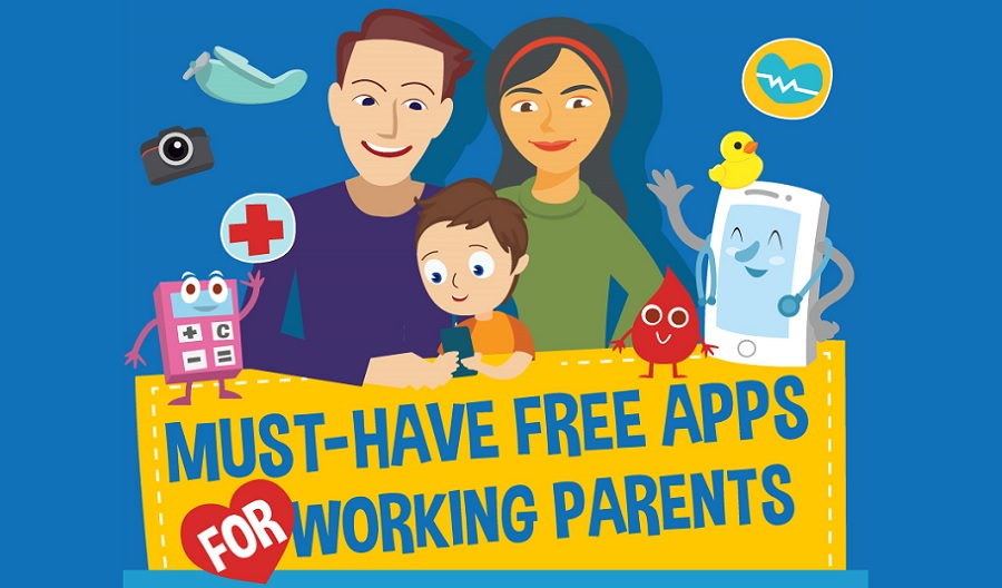 10+ Best Free Mobile Apps for Working Parents and Busy Moms