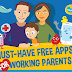 10+ Best Free Mobile Apps for Working Parents and Busy Moms [Infographic]