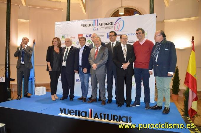 Las fotos de la Gala de entrega de las insignias de oro de la Vuelta a Asturias 2017