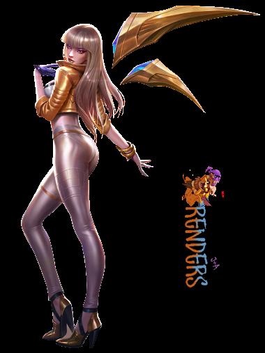 render K/DA Kai'Sa Prestige Edition