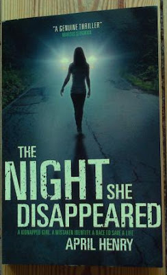 Cover for The Night She Disappeared by April Henry