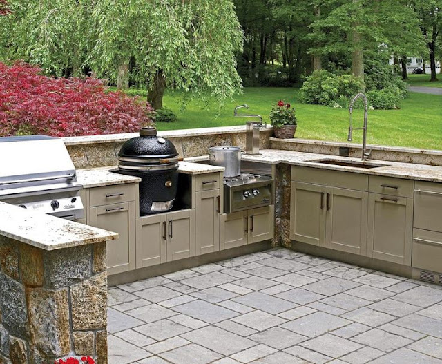 Danver Grill Cabinets Outdoor Kitchens