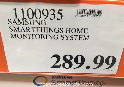 Deal for the Samsung SmartThings Home Monitoring System at Costco