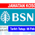 Job Vacancy at Bank Simpanan Nasional (BSN)