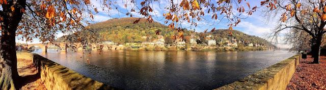 Romantisches Heidelberg im Herbst
