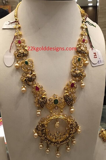 70grams CZS Long Necklace