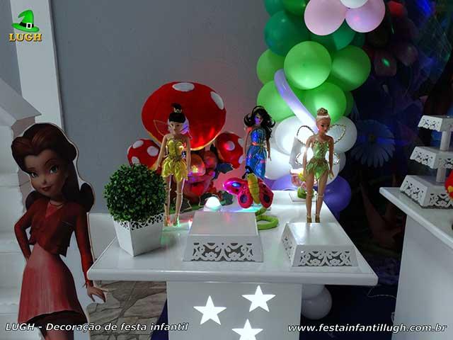 Mesa temática Tinker Bell - Sininho - Festa de aniversário infantil