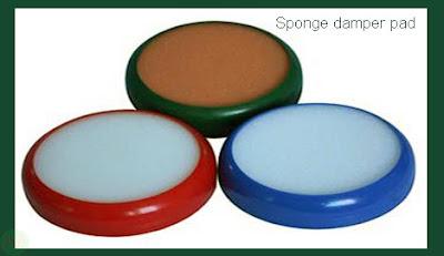 sponge damper pad