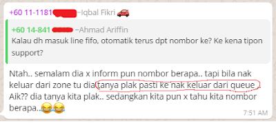 fifo zone uber malaysia