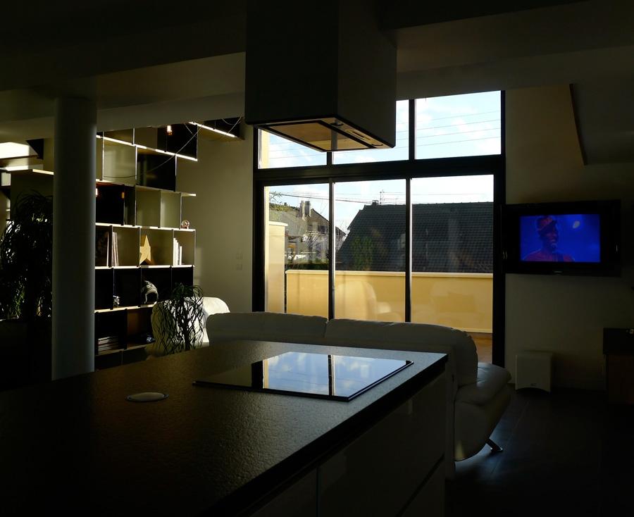Construction maison moderne un magnifique loft en r gion for Acheter un loft en region parisienne