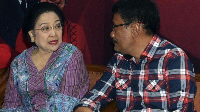 Megawati ke Djarot: Ayok Kembali Ke Kandang
