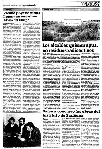Fañanás: Vecinos y Ayuntamiento llegan a un acuerdo en Alcalá del Obispo