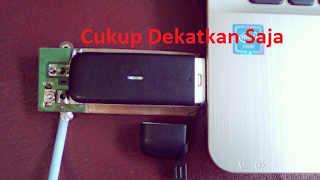 antena penguat sinyal hp android sederhana dengan bekas kepingan cd