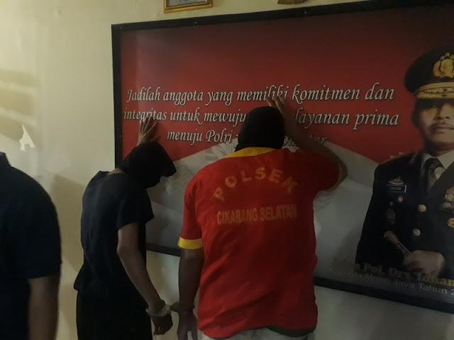 Komplotan Begal Ngaku Polisi Ditangkap Buser Polsek Cikarang Selatan