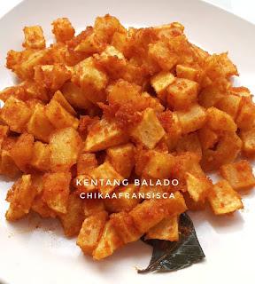 Resep Masakan Kentang Balado By @chikaafransisca