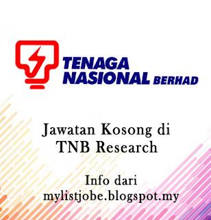 Jawatan Kosong Terkini di TNB Research