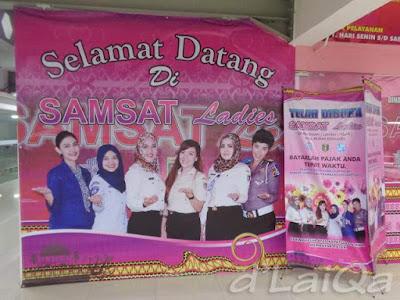 Samsat Ladies, Mall Boemi Kedaton (MBK), Bandar Lampung
