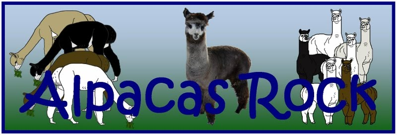 "THANKS FOR VISITING ""ALPACAS ROCK"" WE HOPE YOU ENJOYED YOUR VISIT."