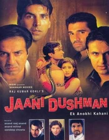 Poster Of Jaani Dushman Ek Anokhi Kahani 2002 Hindi 450MB HDRip 480p Free Download Watch Online